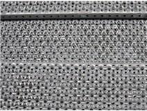 rošt profilový RUND 250x40x2mm/3m pozinkovaný