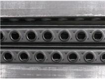 příčka žebříčková jednořadá 25x37x2/2m surová