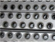Příčka žebříčková dvouřadá 50x37x2/2m surová