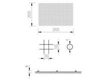 síť KARI 4/10/2x3m (KA 16)