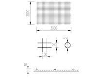 Síť KARI 5/10/2x3m (KD 35)