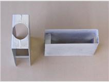 držák podhrabové desky Zn průměr 48 výška 200mm průběžný
