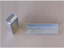 držák podhrabové desky ZN výška 200mm koncový