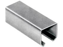 Kolejnice C  33x34x2,0mm Zn pro závěsné brány