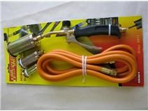 Hořák PB krátký+hubice 25,35,50mm/3m hadice - DOPRODEJ