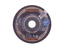 kotouč řezný 115x1,5/ 22,2 XT10 Inox RHODIUS