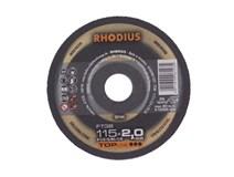kotouč řezný 115x2,0/ 22,2 FT38 Inox RHODIUS