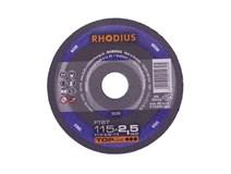 kotouč řezný 115x2,5/ 22,2 FT67 Inox RHODIUS