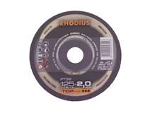 kotouč řezný 125x2,0/ 22,2 FT38 Inox RHODIUS
