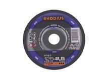kotouč řezný 125x2,5/ 22,2 FT67 Inox RHODIUS