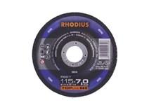 kotouč brusný 115x 7,0/ 22,2 RS67 Inox RHODIUS