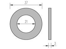 DIN 125 21 podložka plochá