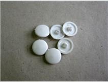 krytka vrutu PZ2 bílá (3,5/4,0/4,5) blistr  - DOPRODEJ
