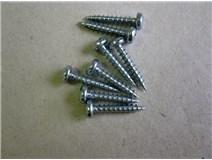 DIN 7996 Zn 3,5x 20 bílý Zn vrut půlkulatá hlava blistr  - DOPRO
