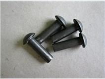 DIN 660 6,0x 20 nýt půlkulatá hlava blistr - DOPRODEJ