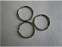 kroužek klíčový 30 poniklovaný blistr
