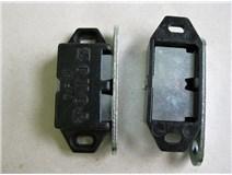 magnet nábytkový - černý blistr