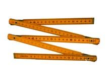 metr skládací 1m dřevěný