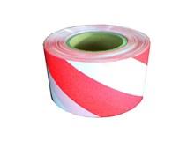 páska výstražná červenobílá CEZ 75mm/250m