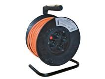 Prodlužovací kabel 25m na cívce 4x zásuvka