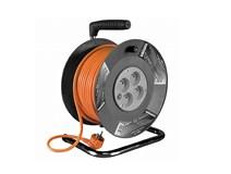 Prodlužovací kabel 50m na cívce 4x zásuvka
