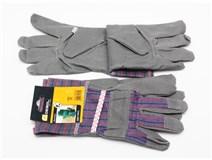 rukavice GREY VINYL umělá kůže velikost 10 - blistr