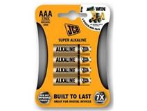 baterie AAA/ LR03 alkalická 1,5V JCB SUPER mikrotužková