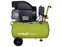 kompresor olejový 24L 1500W EXTOL Craft