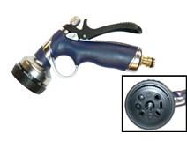 Pistole zahradní stříkací kovová 8-poloh  MAGG
