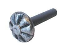 nýt kovářský 6,0x36 ozdobná hlava průměr hlavy 18mm