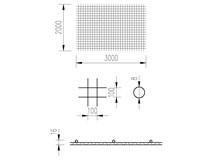 síť KARI 8/10/2x3m (KY 49)